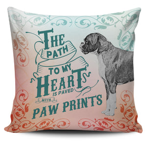 Path to My Heart (Boxer) Pillow Cover