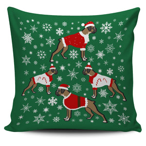 Boxer Xmas Pillow Cover