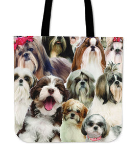 Shih Tzu Lover Tote Bag