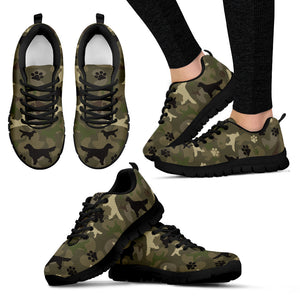 Golden Camo Women's Sneakers