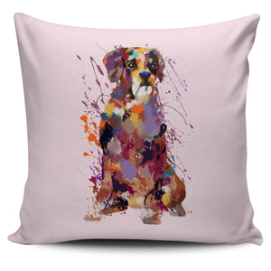 Boxer Portrait Pillow Cover