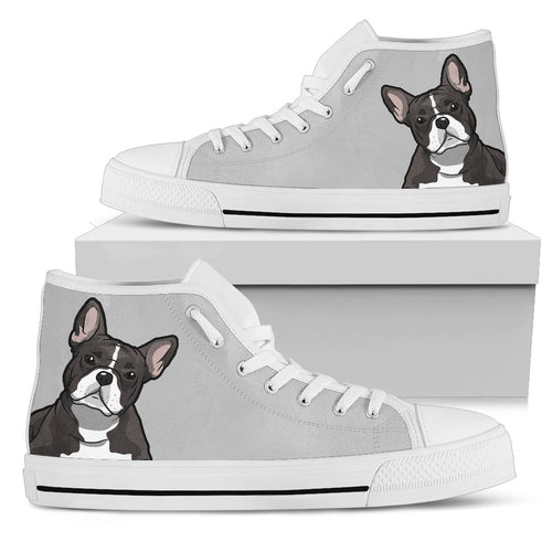 Bulldog Men's Gray High Top Sneakers