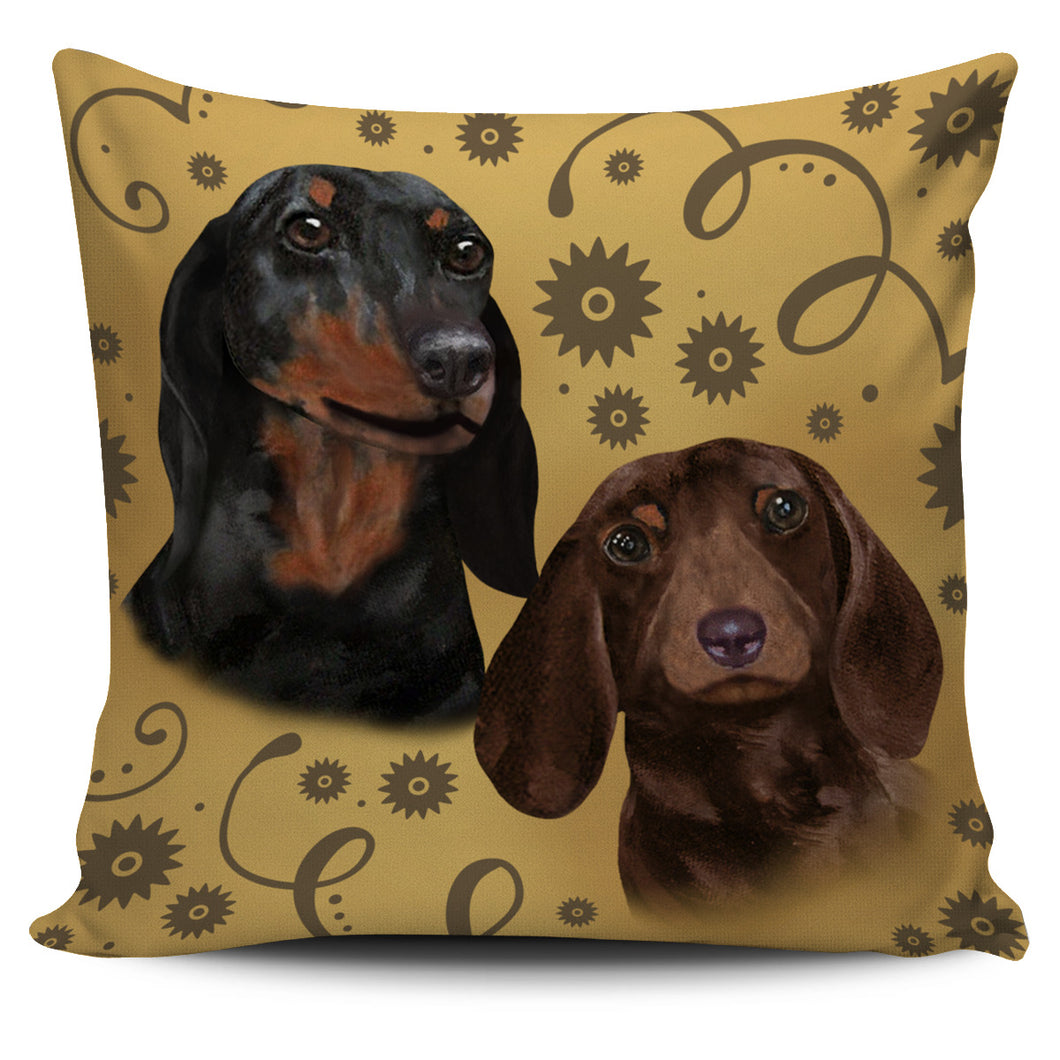 Dachshund Breed Pillow Cover