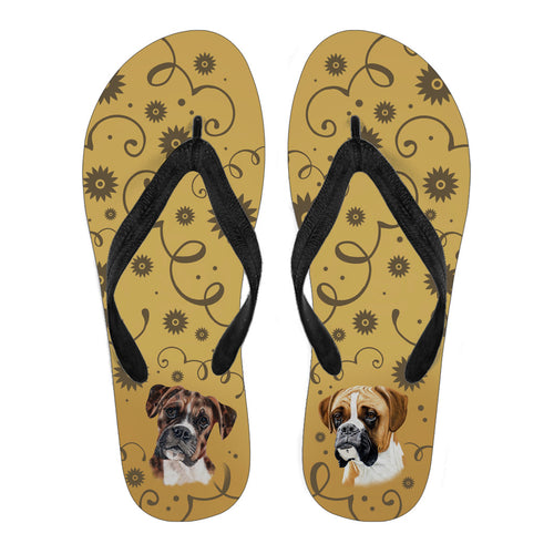 Boxer Breed Women's Flip Flops