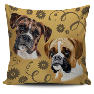 Boxer Breed Pillow Cover
