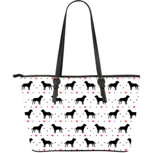 Lab Love Large Leather Tote