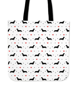 Dachshund Love Tote Bag