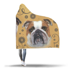 Bulldog Breed Hooded Blanket