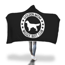 Golden Mom Hooded Blanket