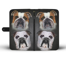 Bulldog Breed Wallet Phone Case (BLACK)