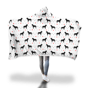 Lab Love Hooded Blanket