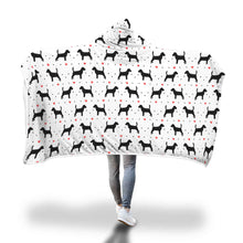 Beagle Love Hooded Blanket