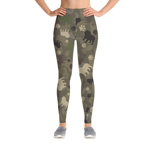 Bulldog Camo Leggings