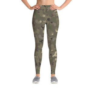 Boxer Camo Leggings