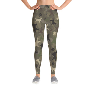 Golden Camo Leggings