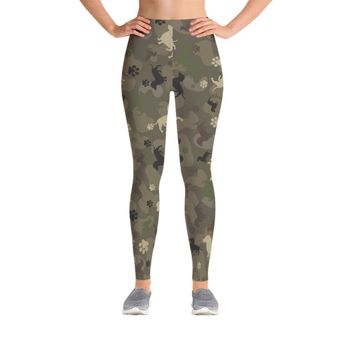 Dachshund Camo Leggings