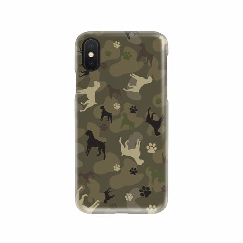 Boxer Camo Phone Case