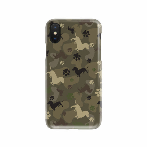 Dachshund Camo Phone Case