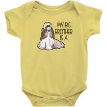 My Big Brother is a Shih Tzu Infant Onesie