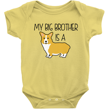 My Big Brother is a Corgi Infant Onesie