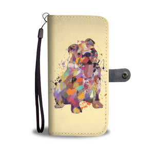 English Bulldog Portrait Wallet Phone Case