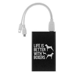 Life is Better With Boxers Power Bank