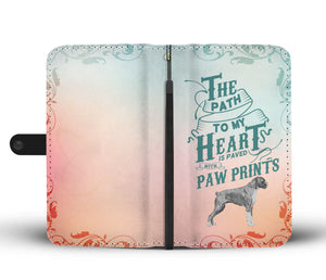 Path to My Heart (Boxer) Wallet Phone Case