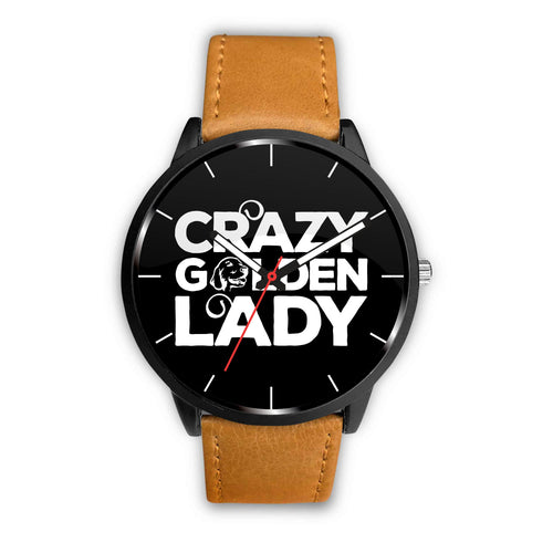 Crazy Golden Lady Watch