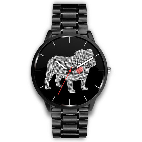 Bulldog Bling Watch
