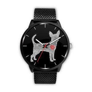 Chihuahua Bling Watch