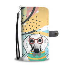 Professor Dachshund Wallet Phone Case