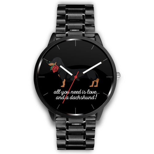 All You Need is Love and a Dachshund Watch
