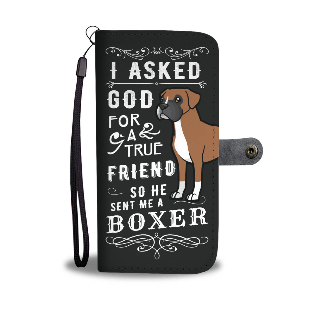 True Friend Boxer Wallet Phone Case