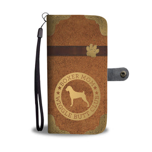 Boxer Mom Wallet Phone Case