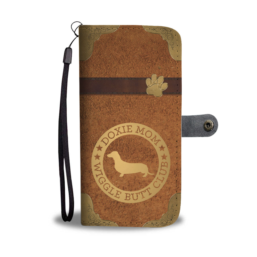 Doxie Mom Wallet Phone Case
