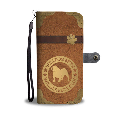 Bulldog Mom Wallet Phone Case