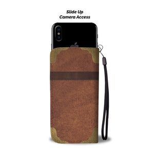 Golden Mom Wallet Phone Case