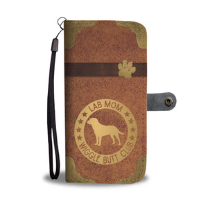 Lab Mom Wallet Phone Case