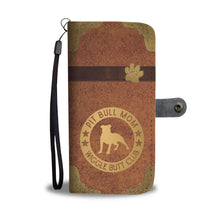 Pit Bull Mom Wallet Phone Case