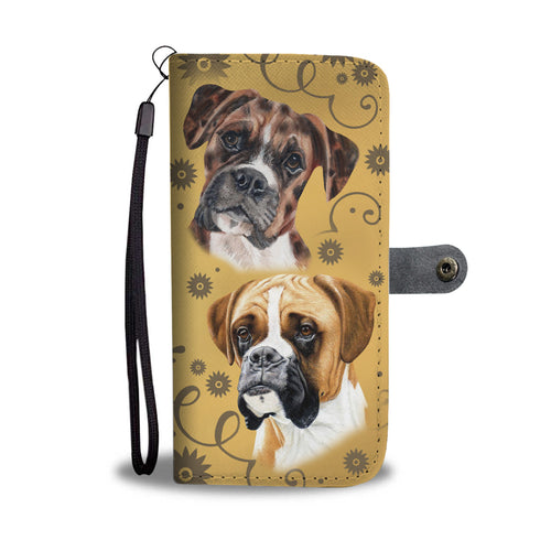 Boxer Breed Wallet Phone Case