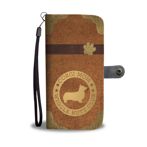 Corgi Mom Wallet Phone Case