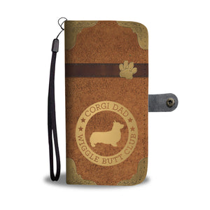 Corgi Dad Wallet Phone Case