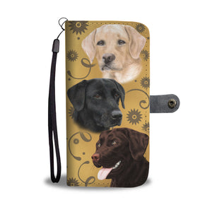 Lab Breed Wallet Phone Case