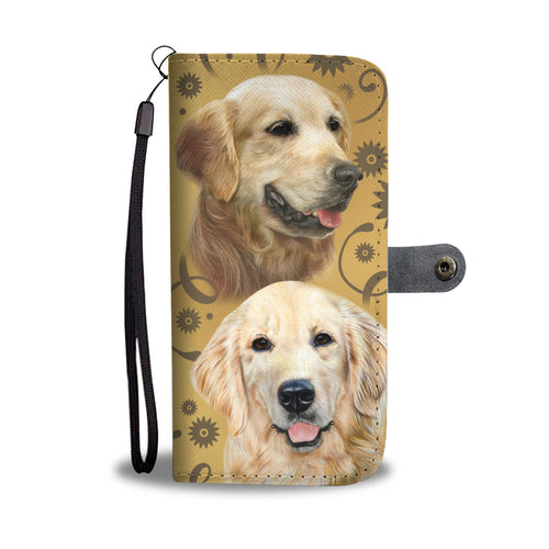 Golden Breed Wallet Phone Case