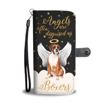 Angels Disguised As Boxers Wallet Phone case