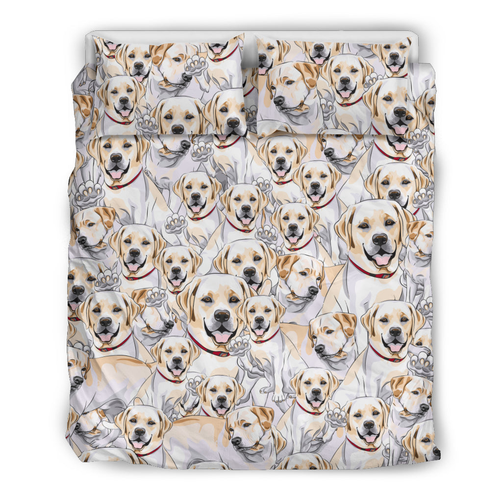 Yellow Labrador Retriever Bedding Set