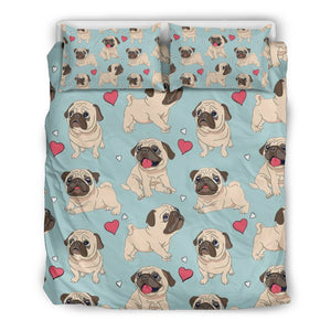 Pug Lover Bedding Set