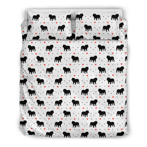Bulldog Love Bedding Set
