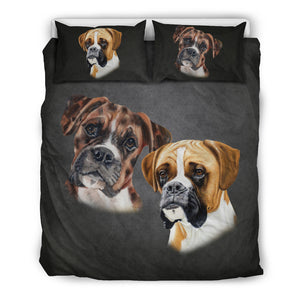 Boxer Breed Bedding Set