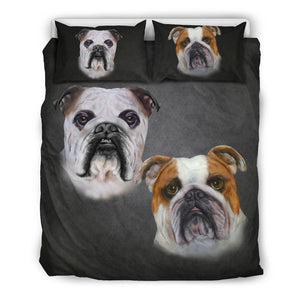 Bulldog Breed Bedding Set